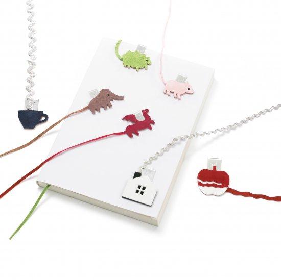 +d Animal bookmark/アニマルブックマーク