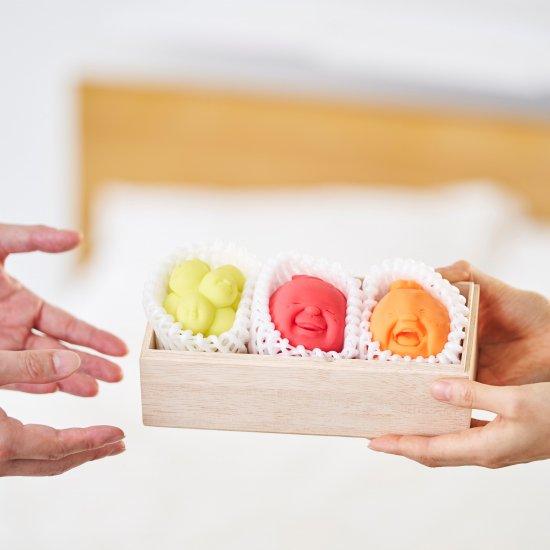 +d CAOMARU Fruit Gift Box(3種入り)/ カオマル フルーツ ギフトボックス 3種入り