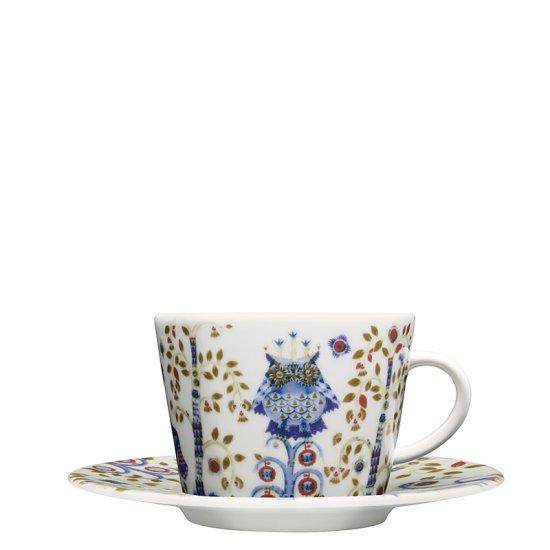 TAIKA ホワイト コーヒーカップ&ソーサー