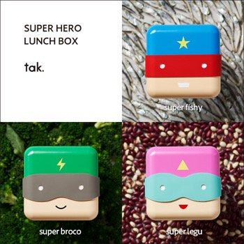 SUPER HERO LUNCH BOX スーパーヒーローランチボックス