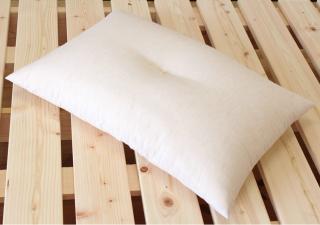 プレミアム・オーガニックコットン茶綿/シングル枕