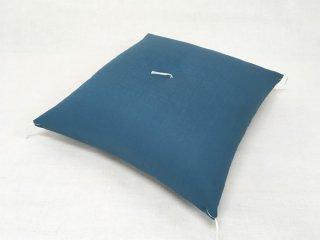 綿紬・八端判座布団/藍