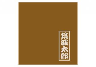 名入れ座布団/金茶