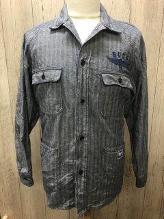 リアルマッコイズ  ブコ  BS19101 メカニック ヘリンボーンワークシャツ A BUCO PRODUCT THE REAL McCOY'S