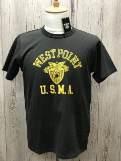 リアルマッコイズ MC20011  WEST POINT U.S.M.A. CHR ミリタリーTee THR REAL McCOY'S