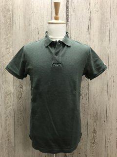 UES/ウエス 67LW 吊り鹿の子ポロシャツ 09 グリーン 半袖ポロ