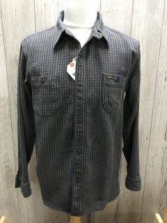 フェローズ 20W-720WS ヘビー フランネルシャツ  OLIV 千鳥格子チェック ワークシャツ PHERROW'S