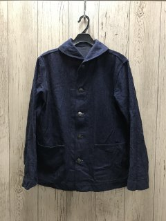 ウエアハウス Lot 2142 USN デニムジャケット DENIM DECK JACKET U.S.NAVY WAREHOUSE