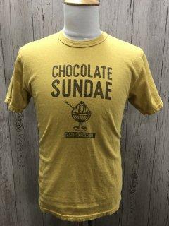 UES/ウエス 652108 CHOCOLATE SUNDAE チョコレートサンデー 半袖プリントTシャツ
