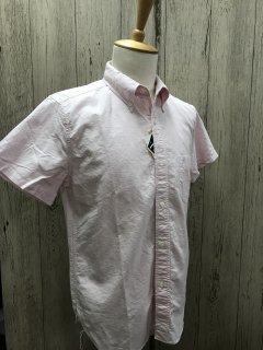 フェローズ  PBDS1 オックスフォード 半袖 ボタンダウンシャツ  S/S B.D. SHIRTS  PHERROWS NVY/PINK