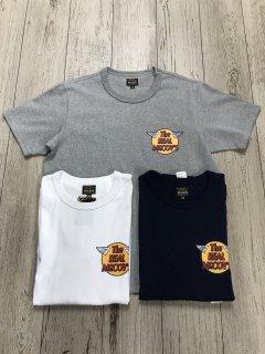 リアルマッコイズ MC20001 LOGO TEE S/S 左胸ロゴプリント 半袖Tシャツ  THE REAL McCOY'S