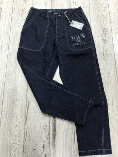 コリンボ/COLIMBO ZV-0217 USN デニムパンツ The Dexie Denim Pants Custom 12ozデニム