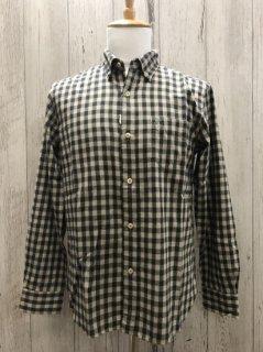 フェローズ  21W-PBD2-CH 長袖 ギンガム チェック B.Dシャツ コットンフランネルB.D shirt 日本製 Pherrow's