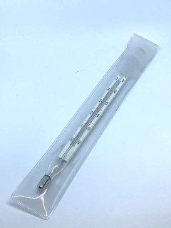 酒精計用温度計 二重管 0〜50℃