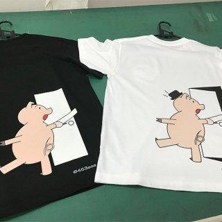 453eeeブランドデザイナーズTシャツ|Pig door