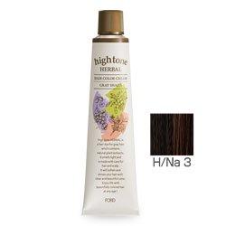 【2剤プレゼント】フォードヘア化粧品 ハイトーンハーバル H/Na 3(ナチュラル)120g(医薬部外品)