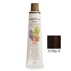 【2剤プレゼント】フォードヘア化粧品 ハイトーンハーバル H/Na 4(ナチュラル)120g(医薬部外品)