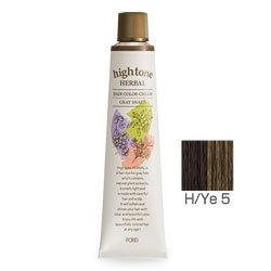 【2剤プレゼント】フォードヘア化粧品 ハイトーンハーバル H/Ye 5(イエローブラウン)120g(医薬部外品)