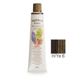 【2剤プレゼント】フォードヘア化粧品 ハイトーンハーバル H/Ye 6(イエローブラウン)120g(医薬部外品)