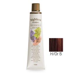 【2剤プレゼント】フォードヘア化粧品 ハイトーンハーバル H/Or 5(オレンジブラウン)120g(医薬部外品)