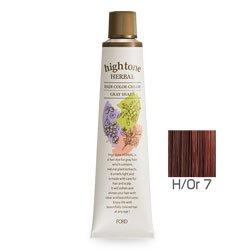 【2剤プレゼント】フォードヘア化粧品 ハイトーンハーバル H/Or 7(オレンジブラウン)120g(医薬部外品)