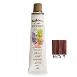 【2剤プレゼント】フォードヘア化粧品 ハイトーンハーバル H/Or 9(オレンジブラウン)120g(医薬部外品)