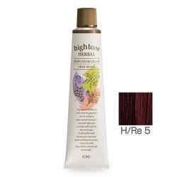 【2剤プレゼント】フォードヘア化粧品 ハイトーンハーバル H/Re 5(レッドブラウン)120g(医薬部外品)