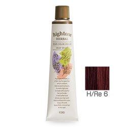 【2剤プレゼント】フォードヘア化粧品 ハイトーンハーバル H/Re 6(レッドブラウン)120g(医薬部外品)