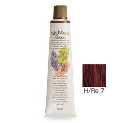 【2剤プレゼント】フォードヘア化粧品 ハイトーンハーバル H/Re 7(レッドブラウン)120g(医薬部外品)