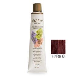 【2剤プレゼント】フォードヘア化粧品 ハイトーンハーバル H/Re 8(レッドブラウン)120g(医薬部外品)