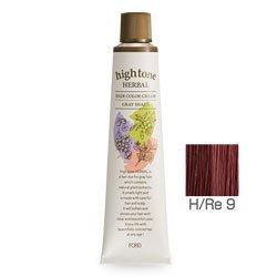 【2剤プレゼント】フォードヘア化粧品 ハイトーンハーバル H/Re 9(レッドブラウン)120g(医薬部外品)
