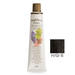 【2剤プレゼント】フォードヘア化粧品 ハイトーンハーバル H/Gr 6(グレージュブラウン)120g(医薬部外品)