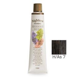 【2剤プレゼント】フォードヘア化粧品 ハイトーンハーバル H/As 7(アッシュブラウン)120g(医薬部外品)