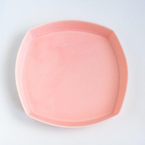 青木良太 / 四角皿 7寸 桜