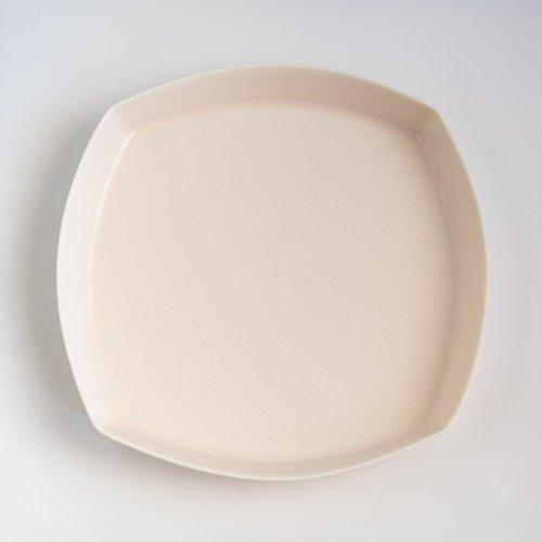 青木良太 / 四角皿 7寸 ミルク