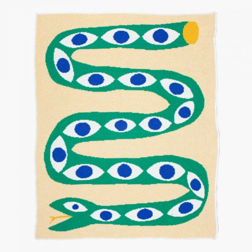 Slowdown Studio / Mini Blanket - Snake Eyes
