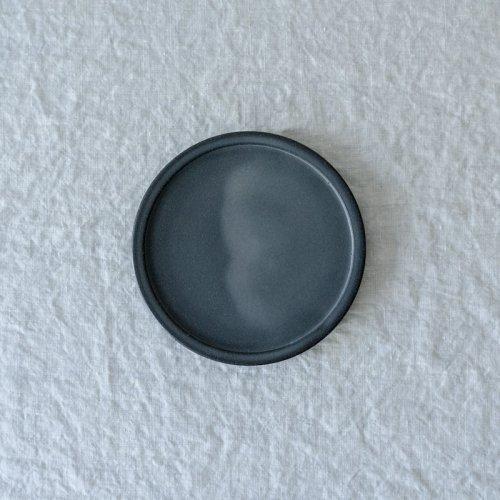 3RD CERAMICS / 黒泥皿 4.5寸