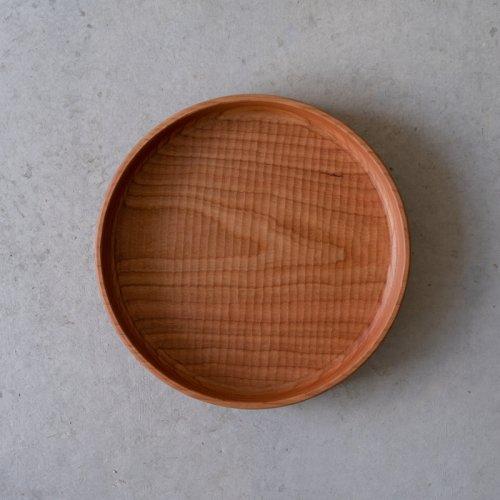 【再入荷】堀宏治 / 深丸盆 さくら(24.5cm)
