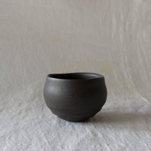 馬場勝文 / 黒釉丸カップ