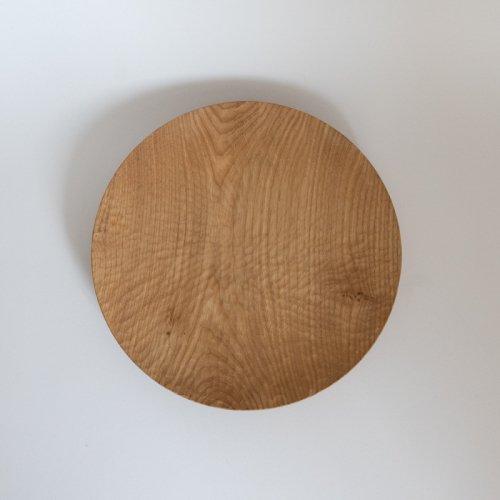 村上圭一 / 彫目皿 栗(24cm)