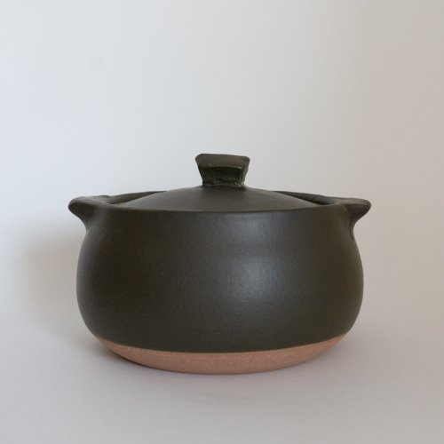 馬場勝文 / 耐熱土鍋 (黒) 小