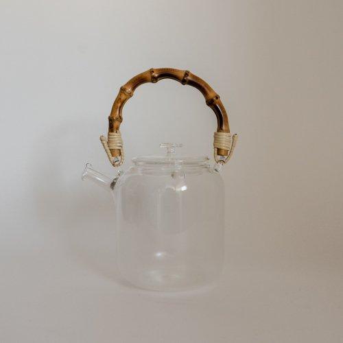 STUDIO PREPA / ガラスティーポット(竹)