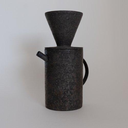 【再入荷予定】遠藤岳 / Pot & Dripper Black