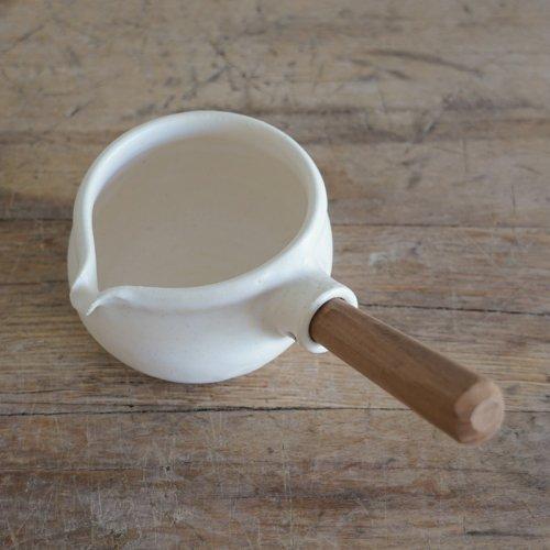 馬場勝文 / 耐熱ミルクパン(白)