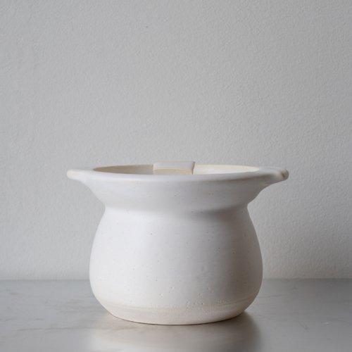馬場勝文 / 耐熱ご飯炊鍋 (白)2合