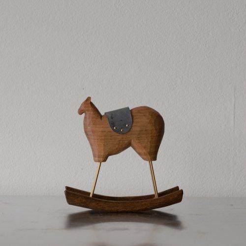 苔むす木工 / 木馬(小)
