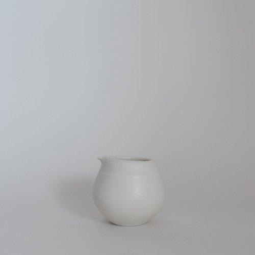 馬場勝文 / 白磁マットミルクピッチャー