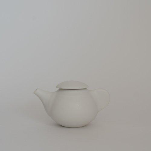 馬場勝文 / 白磁マット ティーポット・小(C)