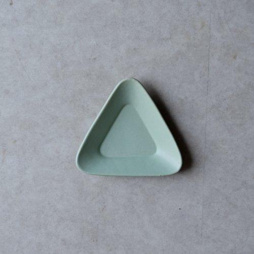 3RD CERAMICS / おつまみ皿(緑・T)
