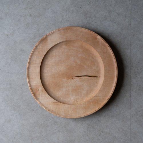 中西健太 / リム皿 24cm 楓